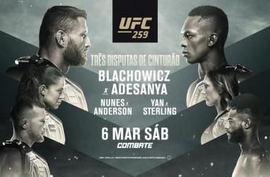 Resultados e Melhores momentos: Blachowicz vs Adesanya e Amanda Nunes vs Megan Anderson no UFC 259