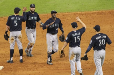The Mariners have a chance to force a one-game playoff with a win Sunday. Credit: Credit: Troy Taormina, USA Today Sports