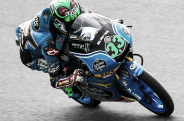 Moto3, Austria: zampata di Bastianini