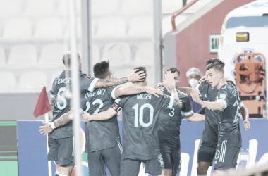 Argentina volvió a ganar en Perú y sigue por buen camino