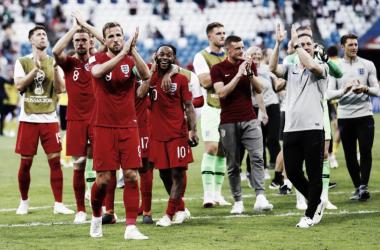 La selección inglesa, agradecida tras avanzar a las semifinales | Foto: England