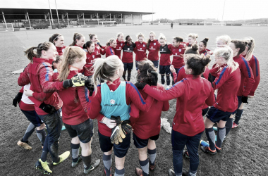 England players gather in camp in January | Source: The FA