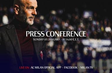 """Milan, Pioli in conferenza: """"Dobbiamo cambiare registro. Ibra? C'è la possibilità che giochi"""""""