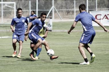 Foto archivo de los entrenamientos del Tomba. | Foto: Prensa Godoy Cruz