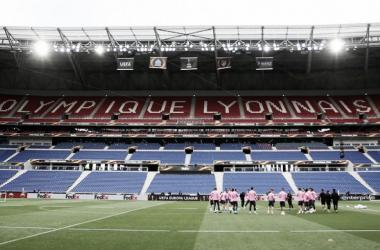 Entrenamiento del equipo rojiblanco en el estadio francés | Atlético de Madrid