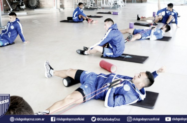 Los jugadores están con confianza para la doble competencia. Foto: Club Godoy Cruz