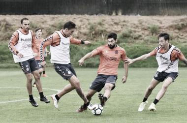 Entrenamiento del Real Valladolid | Foto: Real Valladolid