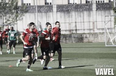 El Eibar entrenará el viernes y el sábado para recibir al Celta