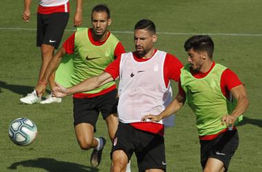 Entrenamiento del Granada CF | Foto: Antonio L. Juárez