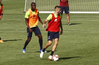 Tres entrenamientos para preparar el duelo contra el Córdoba