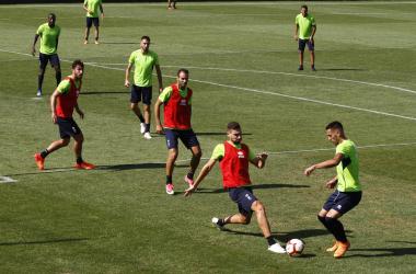 Convocatoria del Granada CF sin novedades
