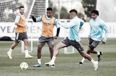 Entrenamiento del Real Madrid en la Ciudad Deportiva | Fuente: realmadrid.com