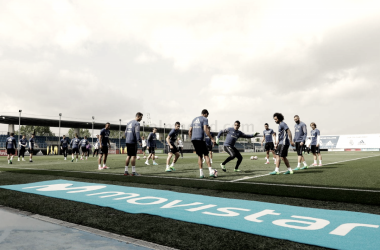 Entrenamiento del Real Madrid en la Ciudad Deportiva I Foto: Real Madrid
