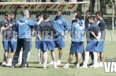 Imagen del entrenamiento del miércoles en Los Céspedes. Foto: Franco Saxlund (VAVEL Uruguay)