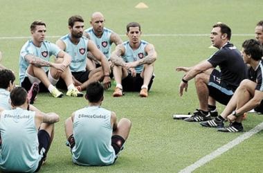Jugadores de San Lorenzo (Foto: Mundo Azulgrana)