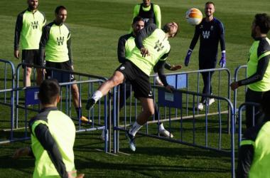 Entrenamiento del Granada CF | Foto: Pepe Villoslada / GCF