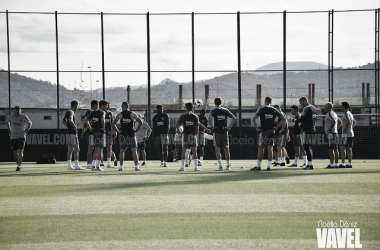 Entrenamiento del FC Barcelona. FOTO: Noelia Déniz