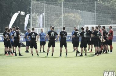 Entrenamiento del equipo. | Foto: Gio Batista / Vavel