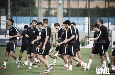 Plan de entrenamiento semanal del Barça B
