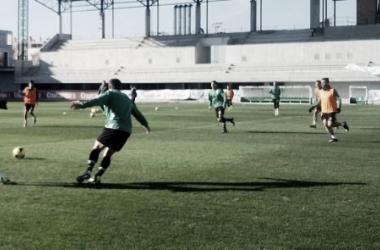 Primer entrenamiento del Betis en el 2014