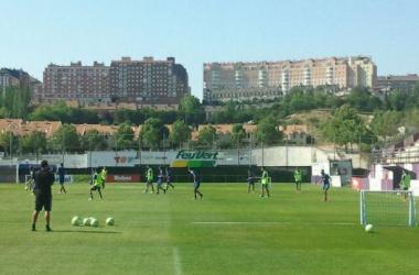 El Real Valladolid empieza a carburar motores