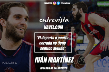 """Entrevista. Iván Martínez: """"El deporte a puerta cerrada no tiene sentido alguno"""""""