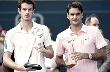 Andy Murray beat Roger Federer in the 2010 Rogers Cup final in Toronto. Photo: Pablo Sanfrancisco