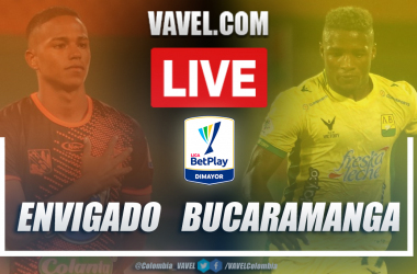 Resumen Envigado vs Bucaramanga (1-0) en la fecha 8 por Liga BetPlay 2021-I