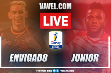 Resumen Envigado vs Junior (3-3) en Copa BetPlay 2020