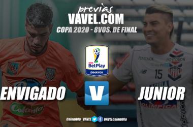 Previa Envigado vs Junior: duelo interesante por un cupo a cuartos de final
