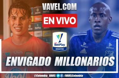 Envigado vs Millonarios 2-1 en la fecha 16 por Liga BetPlay 2021-II