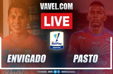 Resumen Envigado vs Pasto (0-1) por la fecha 2 en Liga BetPlay 2021-I