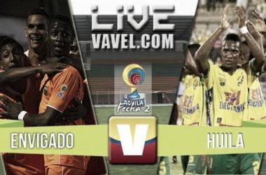 Resultado Envigado vs Huila en Liga Águila 2016-II (1-0)