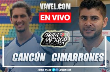 Goles y resumen del Cancún FC 2-2 Cimarrones de Sonora en Liga Expansión MX 2021