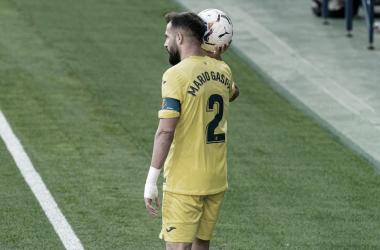 "<p class=""MsoNormal"">Mario durante un partido / Foto: Villarreal C.F<o:p></o:p></p>"