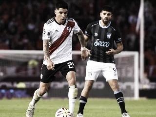 Último enfrentamiento Superliga 2019/20 Atlético Tucumán 1- River 1. (Foto web)