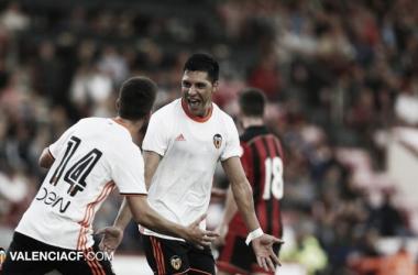 Enzo Pérez, Diego Alves y Hernanes, nombres propios de la jornada de ayer