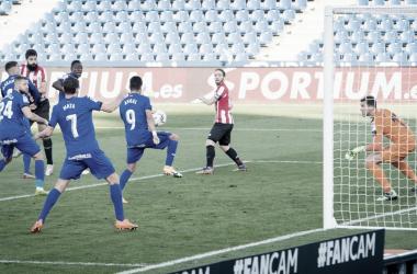 Resumen del Getafe CF vs Athletic Club en LaLiga Santander 2020/21 (1-1)