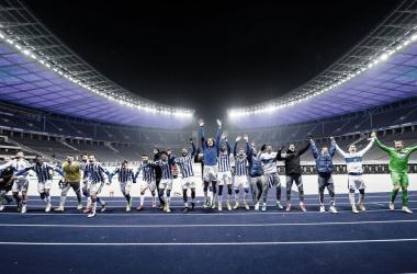 Piatek entra, vira dérbi berlinense sobre Union e garante primeira vitória do Hertha em casa