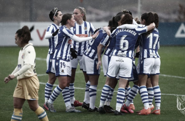 El 1x1 de la Real femenino ante el Espanyol