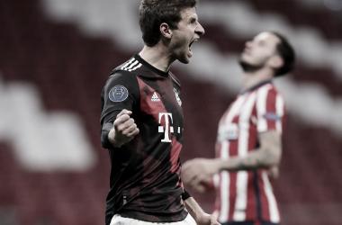 Müller condena al Atlético a jugarse la vida en Salzburgo