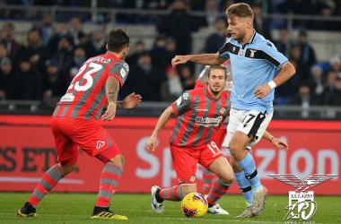 Lazio ai quarti di Coppa Italia: battuta la Cremonese 4-0
