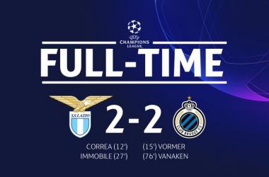 Champions League - Lazio agli ottavi vent'anni dopo