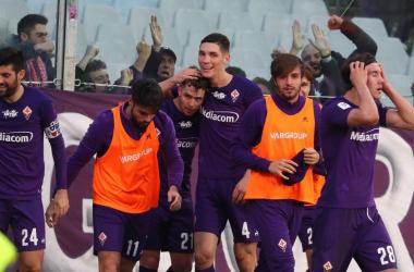 La Fiorentina raggiunge l'Inter: battuta l'Atalanta 2-1