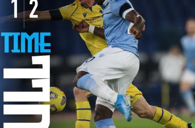 Serie A, l'Hellas Verona batte la Lazio all'Olimpico