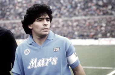 """Maradona, el """"Salvador napolitano"""""""