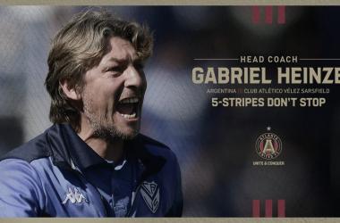 Gabriel Heinze es el nuevo entrenador de Atlanta United FC