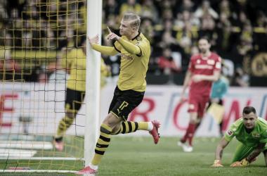 Borussia Dortmund goleó 5-0 al Union Berlin