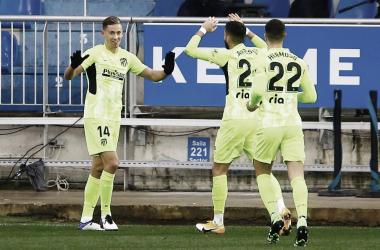 Deportivo Alavés - Atlético Madrid: puntuaciones del Atlético de Madrid en la jornada 17 de LaLiga