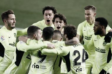 Última victoria del conjunto rojiblanco frente al Alavés. / Twitter: Atlético de Madrid oficial